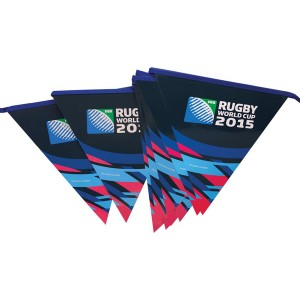 Rugby world cup official bunting 5m