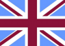 Union Jack - Blue/Claret/White 5ft x3ft