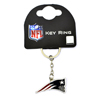 New England Patriots crest Key ring NFL official product