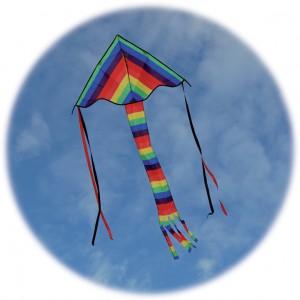 Delta super rainbow flyer by spirit of air