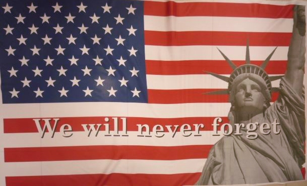 911 - We will never forget flag USA 5x3