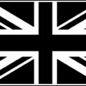 Union Jack – Black / White 5ft x3ft