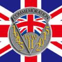 World War 2 WW2 70th anniversary flag 5ft x 3ft
