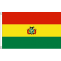 Bolivia flag 5x3ft