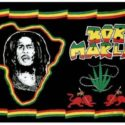 Bob Marley Africa flag 5ft x 3ft
