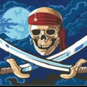 Pirates of the Caribbean flag 5ft x 3ft