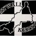 Cornwall Kernow silhouette flag 5ft x 3ft