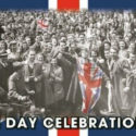 VE day flag 5ft x 3ft 75th anniversary