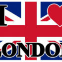 I love London flag 5ft x 3ft with eyelets