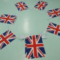 Union jack bunting 6m long  with 20 flags 6″x9″