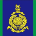 Signals squadron Royal marines flag 5ft x 3ft with eyelets High quality