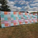 Florelle fabric windbreak 3 panel 4m long by Outdoor revolution for caravan motorhome camper van