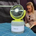 Lumi fan lantern from Outdoor revolution USB rechargeable high quality